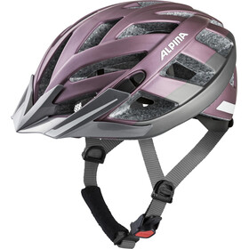 Alpina Panoma 2.0 City Cykelhjelm, rose-darksilver reflective